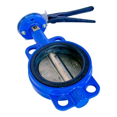 Затвор поворотный дисковый чугунный ABRA PN16 DN32-600 GG25 / GGG40 / EPDM с рукояткой или редуктором