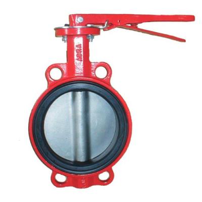 Затвор дисковый поворотный чугунный ABRA PN16 DN32-600 GG25 / AISI316 / EPDM с рукояткой или редуктором