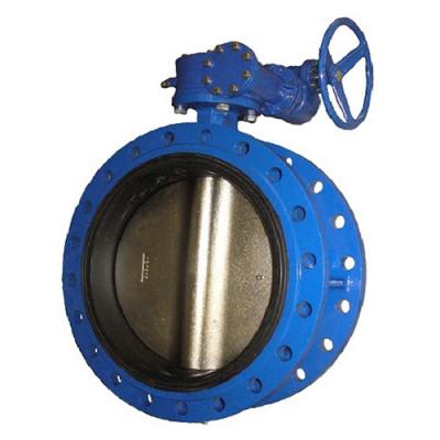 Затвор фланцевый дисковый поворотный BUV-FL PN10 и PN16 DN50-1000 GGG40 / GGG40 / EPDM