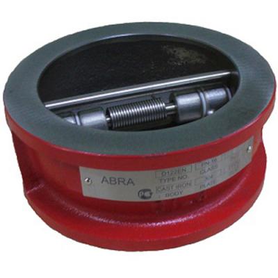 Обратный клапан межфланцевый двустворчатый DN40-1200 PN16