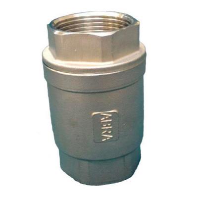 Обратный клапан нержавеющий из стали резьбовой DN15-50 PN40
